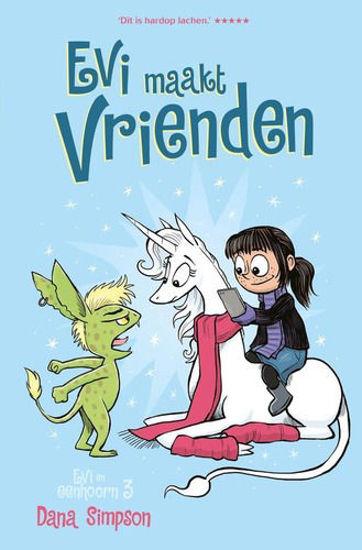 Afbeelding van Evi en eenhoorn #3 - Evi maakt vrienden (FONTEIN, harde kaft)
