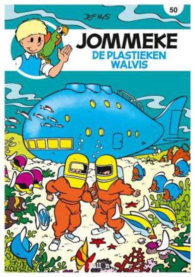 Afbeelding van Jommeke #50 - Plastieken walvis (BALLON, zachte kaft)