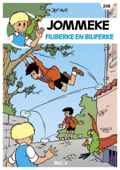 Afbeelding van Jommeke #246 - Filiberke en biliferke (BALLON, zachte kaft)