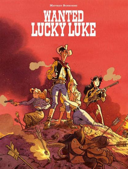 Afbeelding van Lucky luke door #4 - Wanted lucky luke (LUCKY COMICS, zachte kaft)