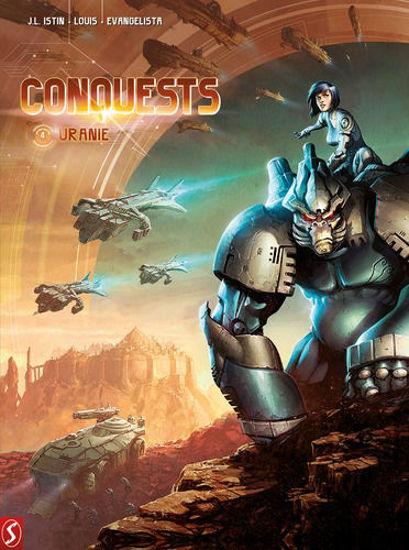Afbeelding van Conquests #4 - Uranie (SILVESTER, harde kaft)