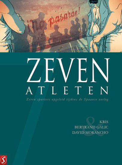 Afbeelding van Zeven... #20 - Zeven atleten (SILVESTER, harde kaft)