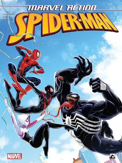 Afbeelding van Marvel action #4 - Spider-man 4 venom (DARK DRAGON BOOKS, zachte kaft)