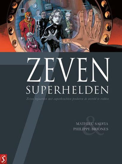 Afbeelding van Zeven... #18 - Zeven superhelden (SILVESTER, harde kaft)