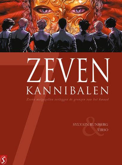 Afbeelding van Zeven... #19 - Zeven kannibalen (SILVESTER, harde kaft)