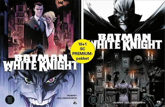 Afbeelding van Batman white knight - White knight premiumpack 1+2+ totem + art print (DARK DRAGON BOOKS, zachte kaft)