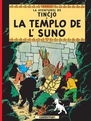 Afbeeldingen van Kuifje vreemde talen - La templo de l'suno (esperanto)