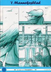 Afbeeldingen van Mannekesblad #1 - Avonturen amadeus geheime formule z.o.t.