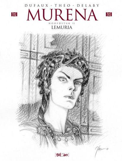 Afbeelding van Murena #11 - Lemuria schetsboek (BLLOAN, harde kaft)