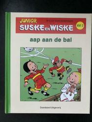 Afbeeldingen van Junior suske wiske - Aap aan de bal (avi2) groen