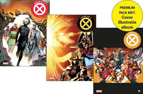 Afbeelding van House of x - Powers of x 1+2+ cover illustratie album (DARK DRAGON BOOKS, zachte kaft)