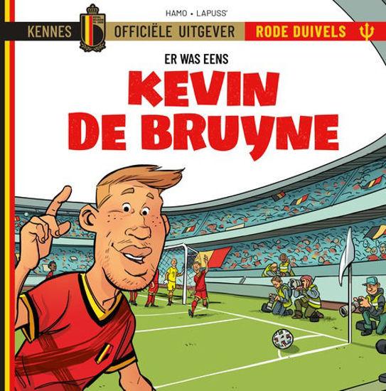 Afbeelding van Rode duivels er was eens #3 - Kevin de bruyne (KENNES EDITIONS, harde kaft)
