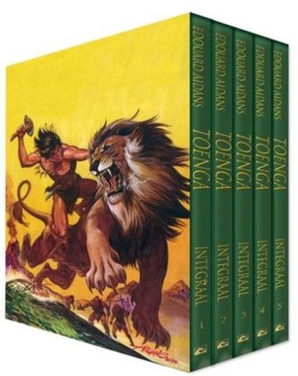 Afbeelding van Toenga - Toenga complete box (DARK DRAGON BOOKS, harde kaft)
