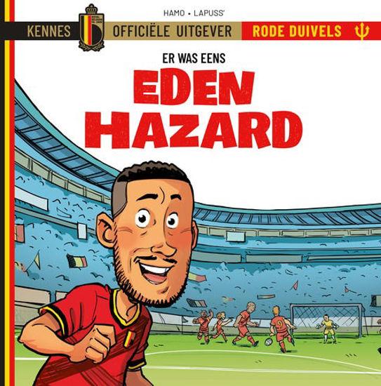 Afbeelding van Rode duivels er was eens #1 - Eden hazard (KENNES EDITIONS, harde kaft)