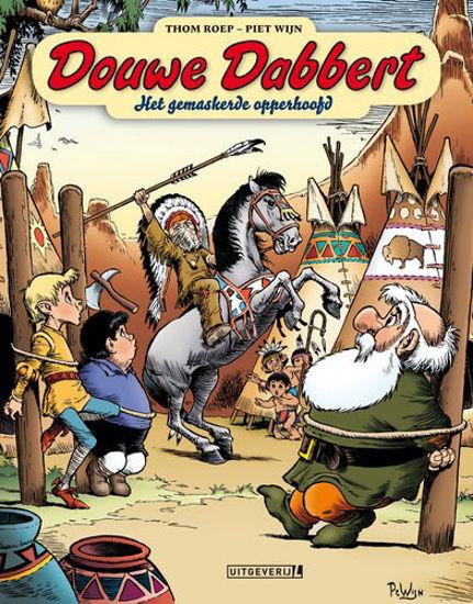 Afbeelding van Douwe dabbert #21 - Gemaskerde opperhoofd (UITGEVERIJ L, harde kaft)