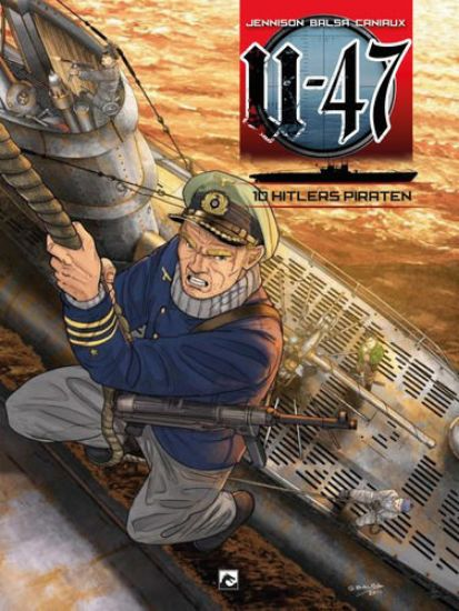 Afbeelding van U-47 #10 - Hitlers piraten (DARK DRAGON BOOKS, zachte kaft)