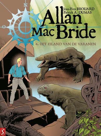 Afbeelding van Allan mac bride #4 - Eiland van de varanen (SILVESTER, harde kaft)