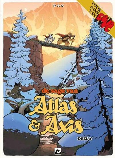Afbeelding van Atlas & axis pakket 1-4 (DARK DRAGON BOOKS, harde kaft)
