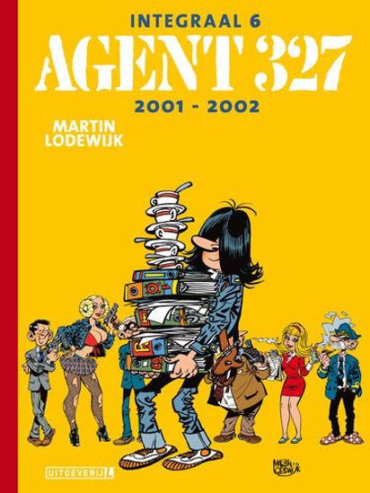Afbeelding van Agent 327 #6 - Integraal 2001-2002 (UITGEVERIJ L, harde kaft)