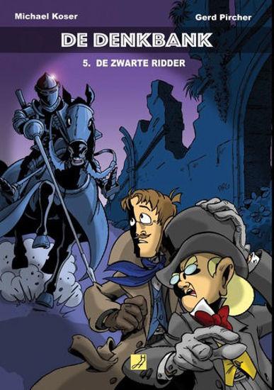 Afbeelding van Denkbank #5 - Zwarte ridder (HAUWAERTS UITGEVERIJ, zachte kaft)