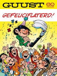 Afbeeldingen van Guust - Guust 60 jaar - gefeliciflaterd! (DUPUIS, zachte kaft)
