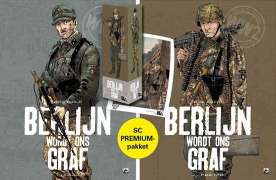 Afbeelding van Berlijn wordt ons graf - Berlijn wordt ons graf collectorspack 1+2 (DARK DRAGON BOOKS, zachte kaft)