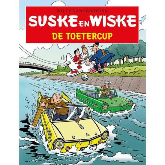 Afbeelding van Suske en wiske tros kompas #24 - Toetercup (STANDAARD, zachte kaft)