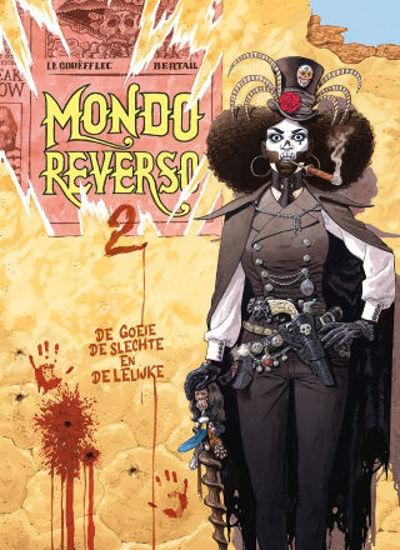 Afbeelding van Mondo reverso #2 - De goeie, de slechte en de lelijke (SAGA, harde kaft)