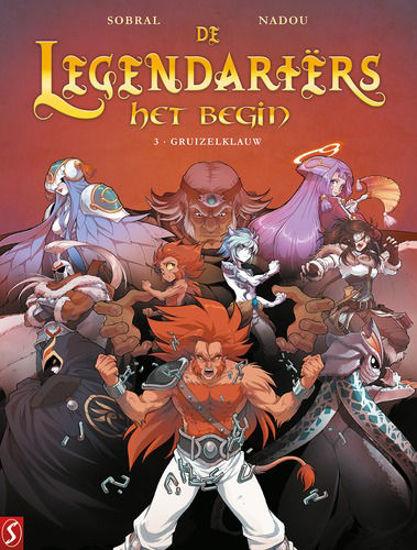 Afbeelding van Legendariers het begin #3 - Gruizelklauw (SILVESTER, zachte kaft)