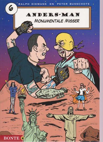 Afbeelding van Anders man #6 - Monumentale misser (BONTE, zachte kaft)