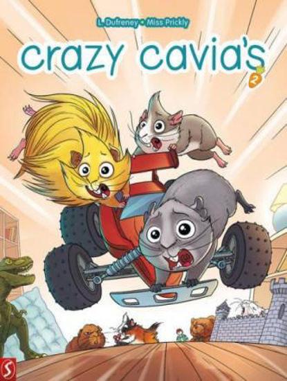 Afbeelding van Crazy cavia's #2 - Crazy cavia's 2 (SILVESTER, zachte kaft)