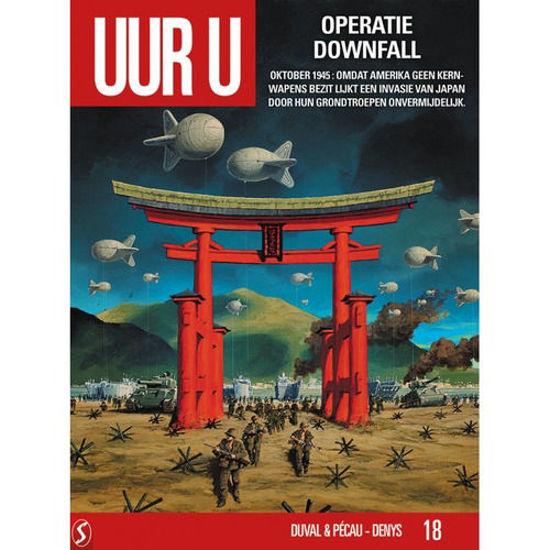 Afbeelding van Uur u #18 - Operatie downfall (SILVESTER, harde kaft)