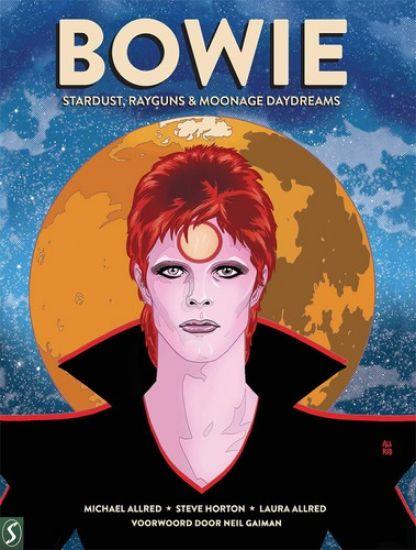 Afbeelding van David bowie - Bowie stripbiografie - stardust, rayguns & moonage daydreams (SILVESTER, harde kaft)