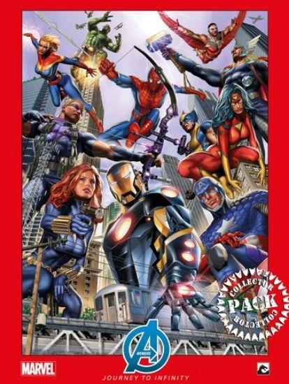 Afbeelding van Avengers journey to infinity - Avengers journey to infinity collectorspack 1-6 (DARK DRAGON BOOKS, zachte kaft)