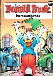 Afbeeldingen van Donald duck pocket #312 - Razende race