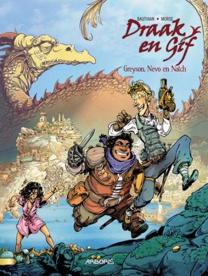 Afbeelding van Draak en gif #1 - Greyson, nevo en natch (ARBORIS, zachte kaft)