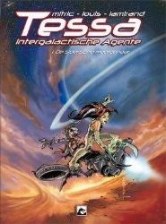 Afbeeldingen van Tessa intergalactische agente pakket 1-3 (DARK DRAGON BOOKS, zachte kaft)