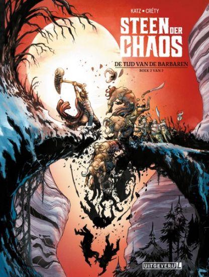 Afbeelding van Steen der chaos #2 - Tijd van de barbaren (LUITINGH, zachte kaft)