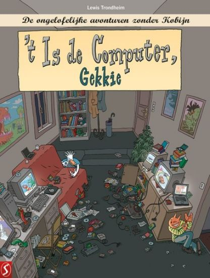 Afbeelding van Kobijn #10 - 't is de computer, gekkie (SILVESTER, harde kaft)
