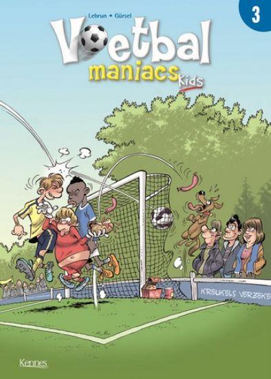 Afbeelding van Voetbal maniacs kids #3 - Voetbal maniac kids 3 (KENNES EDITIONS, zachte kaft)