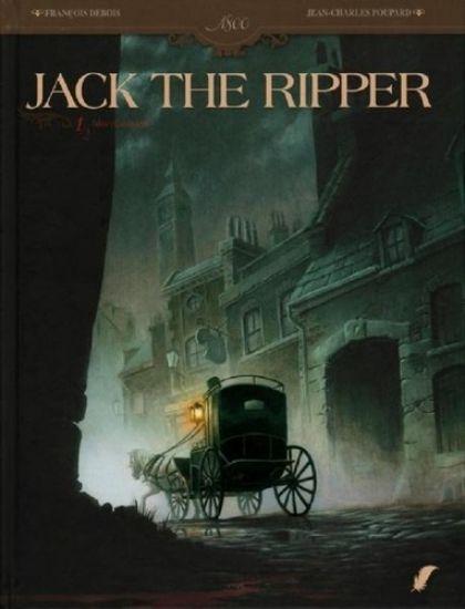 Afbeelding van Jack the ripper #1 - Bloedbanden (DAEDALUS, harde kaft)