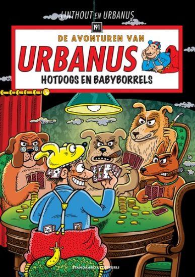 Afbeelding van Urbanus #191 - Hotdogs en babyborrels (STANDAARD, zachte kaft)