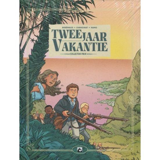 Afbeelding van Twee jaar vakantie - Twee jaar vakantie collector pack 1-3 (DARK DRAGON BOOKS, zachte kaft)