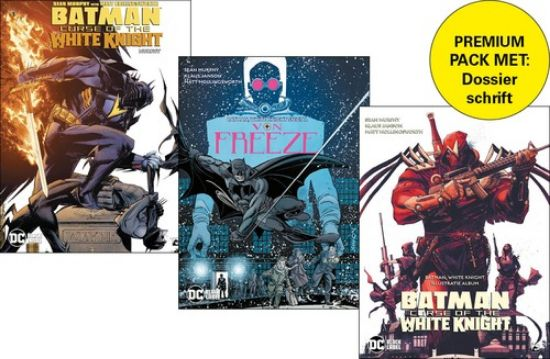 Afbeelding van Batman curse of the white knight - Curse of the white knight 3 + white knight special + dossierschrift (DARK DRAGON BOOKS, zachte kaft)