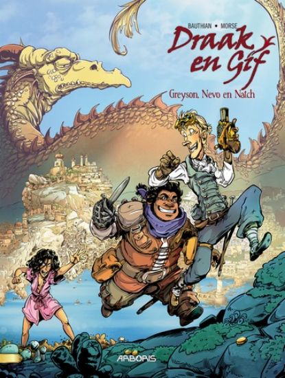 Afbeelding van Draak en gif #1 - Greyson, nevo en natch (ARBORIS, harde kaft)