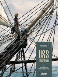 Afbeeldingen van Uss constitution #1 - Aan land heersen vaak strengere wetten dan op zee (GLENAT, harde kaft)
