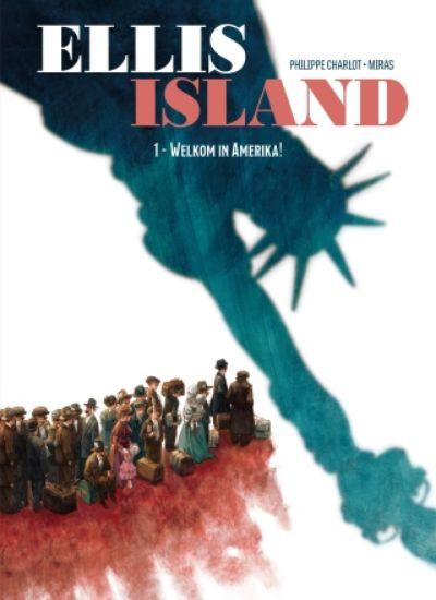 Afbeelding van Ellis island #1 - Welkom in amerika (SAGA, harde kaft)