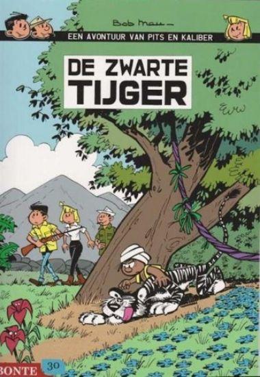 Afbeelding van Pits en kaliber - Zwarte tijger (BONTE, zachte kaft)
