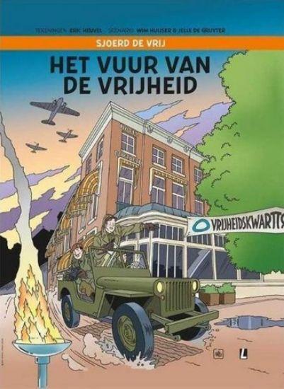 Afbeelding van Sjoerd de vrij - Vuur van de vrijheid (LUITINGH, harde kaft)